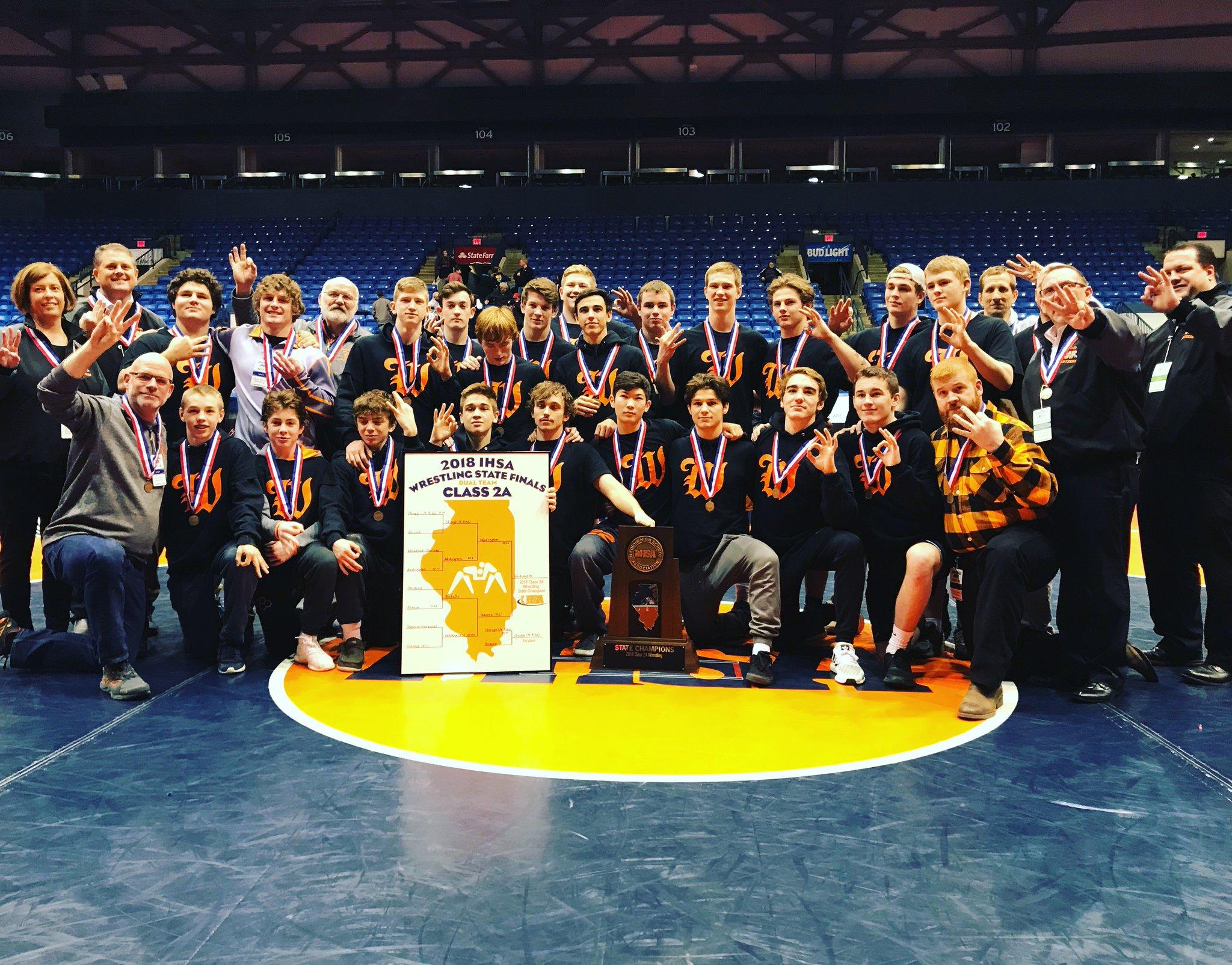 Class 2A State Champions Washington