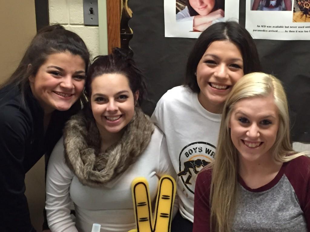 GBN stat girls L-R: Alexis Gomez, Tori Carlson, Emily Ayala, Jenny Fisher
