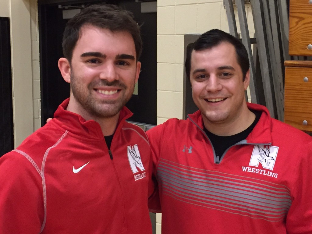Naperville Central Assistant Coaches L-R: Mike Curley and Chris Nutt