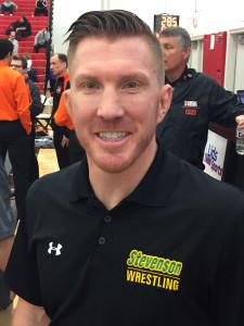 Stevenson Head Coach Shane Cook