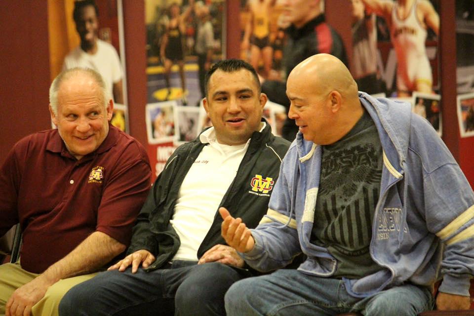 Paul Faris (left), Israel Martinez (middle), Jose Martinez (right)